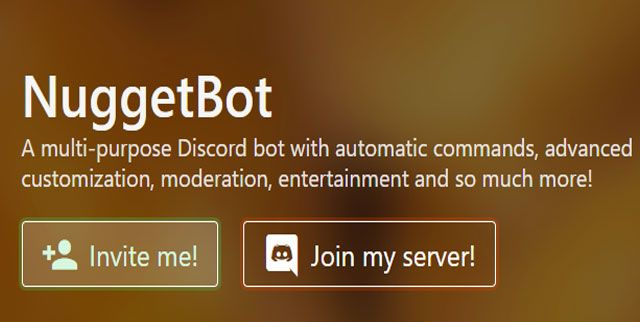 Nuggetbot discord