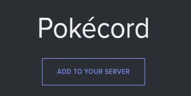 Pokerecord discord y un bot de pokemon