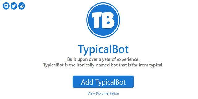 bot de discord gratis typicalbot