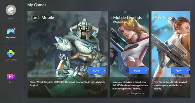 Diferentes emulador para jugar mejor