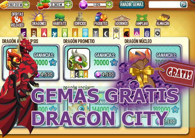 Cómo Conseguir Gemas Gratis Para Dragon City Rompeniveles