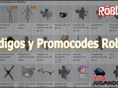 Códigos para Roblox – Promocodes Marzo 2020