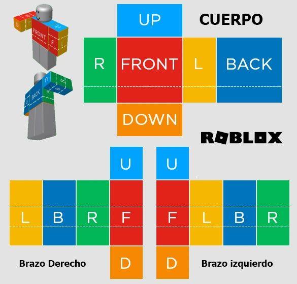imagen de las tallas de roblox en español
