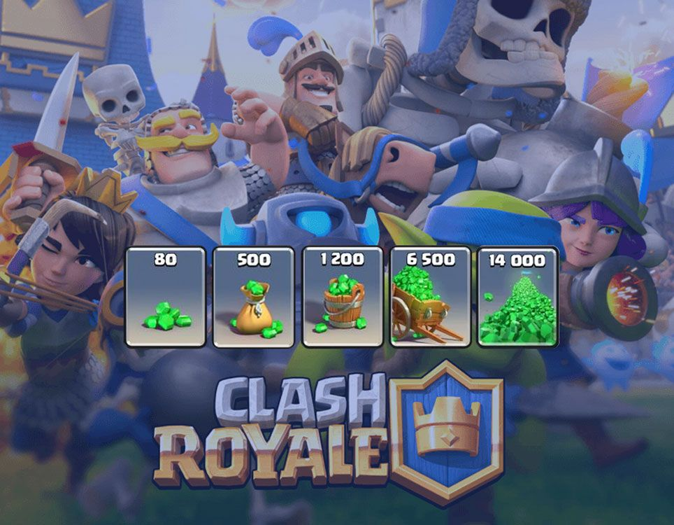 how to win free gems at clash royale