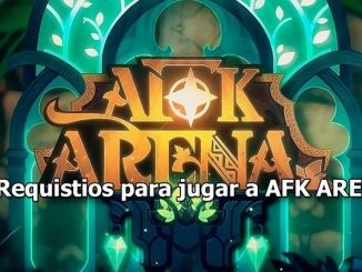 requisitos de afk arena
