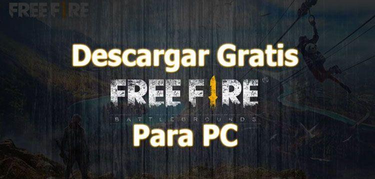 Descargar free fire pc