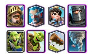 Deck with ice wizard and princess