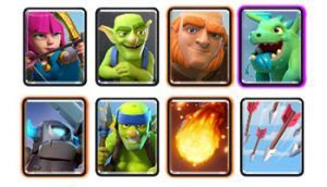 arena 3 deck with baby dragon