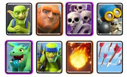 skeleton army and goblins