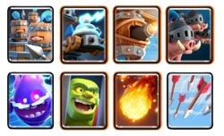 Deck with Royal Hogs Royal recruits