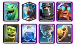 Electro Giant deck with baby dragon