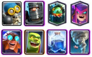 Electro Giant Mother witch deck