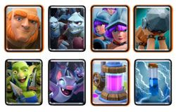 Giant Three Musketeers deck