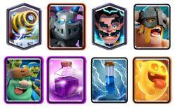 Goblin Giant Sparky Rage deck
