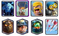 Lava Hound deck clash royale