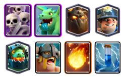 Lava Miner Elite Barbarians deck
