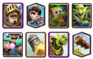 Log Bait with Prince deck clash royale