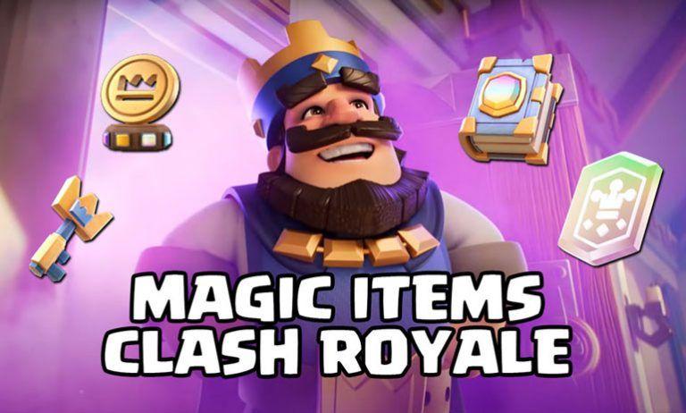 magic items clash royale