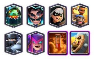Mega Knight Ram Rider deck with Electro Wizard