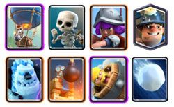 Miner Balloon cycle deck