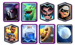 P.E.K.K.A. Ram Rider Lightning with Electro Wizard deck