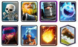 Royal Giant deck clash royale