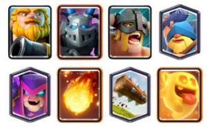 Royal Giant deck with Mother witch