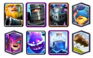 Royal Giant Lightning deck