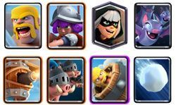 Royal Hogs deck clash royale