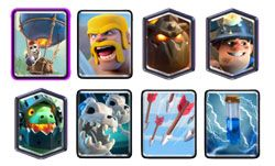 Classic Lavaloon Miner deck