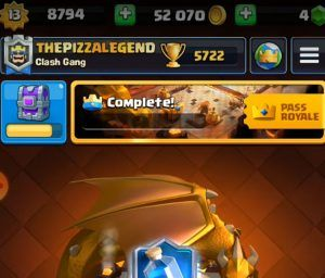 image of gold in clash royale