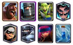 Mega Knight Bandit deck