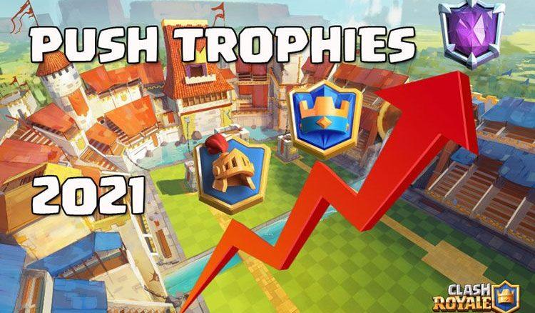 push trophies clash royale