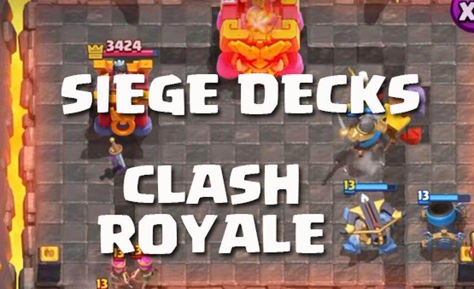 siege decks